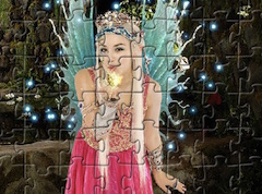 Puzzle cu Printesa Astral