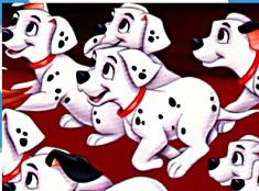 Puzzle cu Puii Dalmatieni
