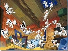 Puzzle cu Puii de Dalmatieni
