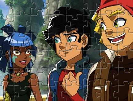 Puzzle cu Redakai