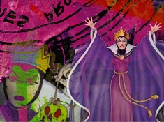 Puzzle cu Regina cea Rea