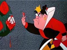 Puzzle cu Regina de Inima Rosie