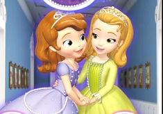 Puzzle cu Sofia si Prietenii Ei