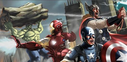 Puzzle cu Supereroii Avengers