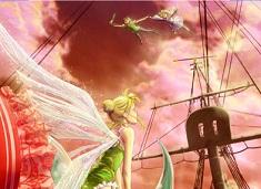 Puzzle cu Tinkerbell si Peter Pan…