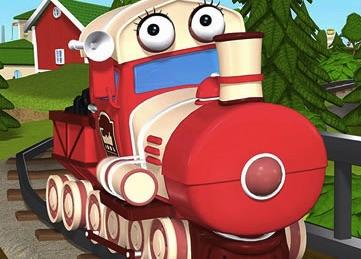 Puzzle cu Trenuri