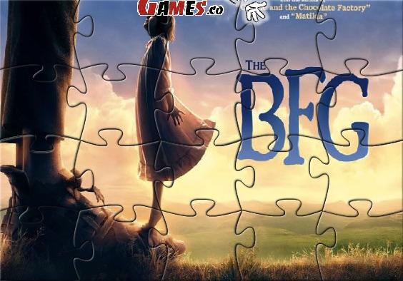 Puzzle cu Uriasul Prietenos