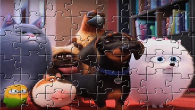 Puzzle cu Viata Secreta a Animalelor