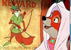Puzzle cu Vulpea Robin Hood
