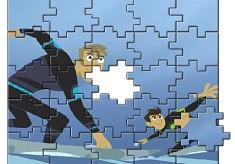 Puzzle cu Wild Kratts
