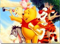 Puzzle cu Winnie si Prietenii