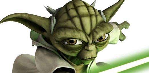 Puzzle cu Yoda
