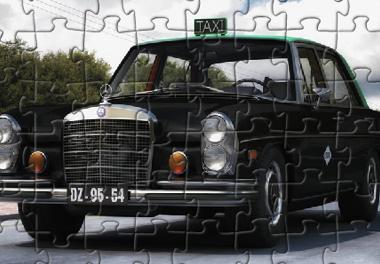 Puzzle de Taxi Mercedes 300