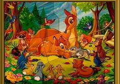 Puzzle Mania cu Bambi