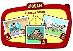 Puzzle Mr Bean