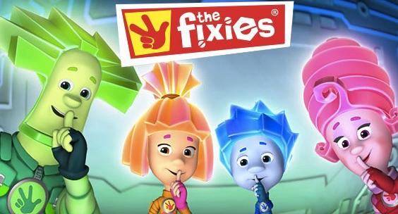 Puzzle Online cu Fixies