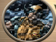 Puzzle Rotund cu Wolverine