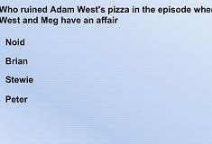 Quiz cu Family Guy