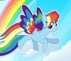 Rainbow Dash Puterea Curcubeului