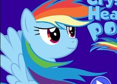 Rainbow Dash si Inimile de Cristal