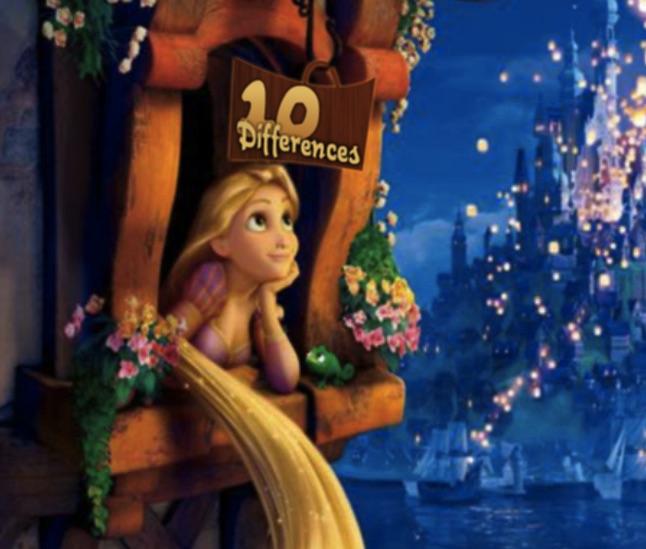 Rapunzel 10 Diferente