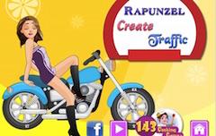 Rapunzel Decoreaza Trafic