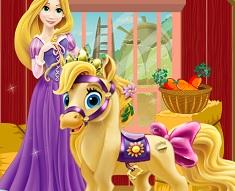 Rapunzel Ingrijeste Poneiul