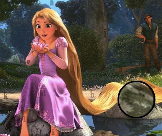 Rapunzel Litere Ascunse