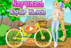 Rapunzel Repara Bicicleta