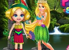 Rapunzel si Printesa Padurii la…