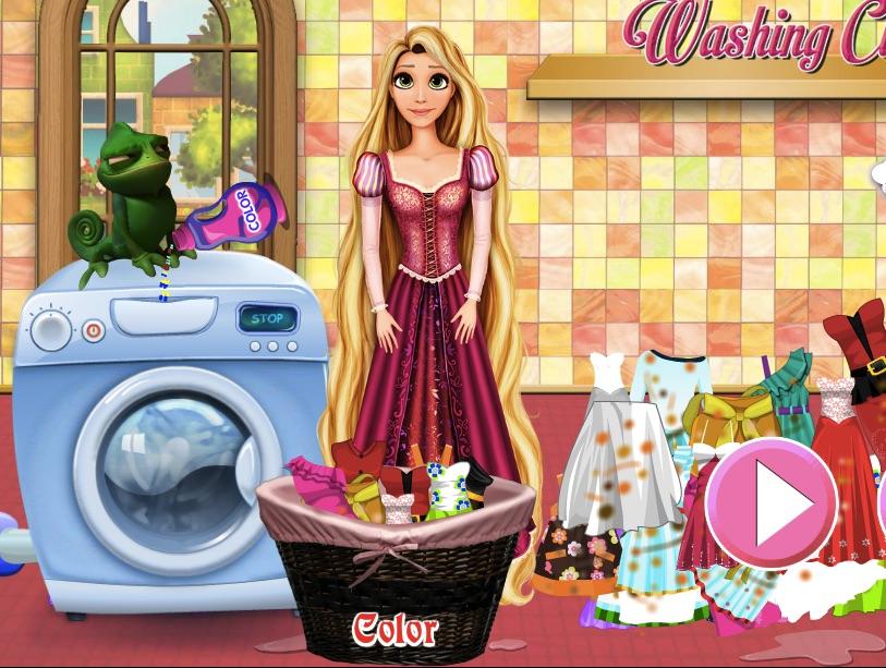 Rapunzel Spala Haine