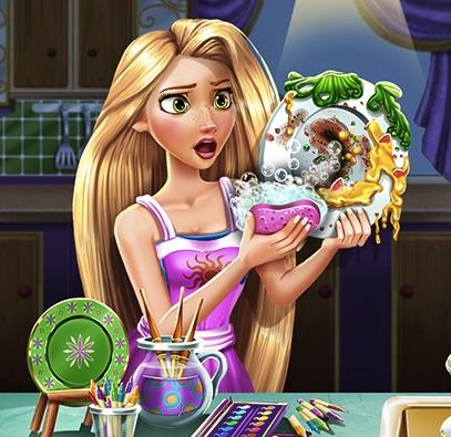 Rapunzel Spala Vase