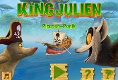 Regele Julien Pirate Panic