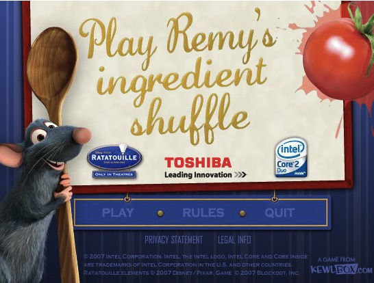 Remy si Ingredientele