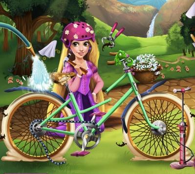 Reparati Bicicleta lui Rapunzel