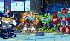 Robotii Transformers Puzzle