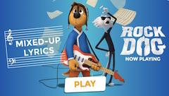 Rock Dog Note Muzicale