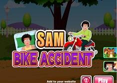 Sam si Accidentul de Motocicleta…