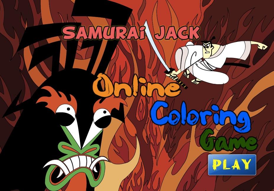 Samurai Jack de Colorat