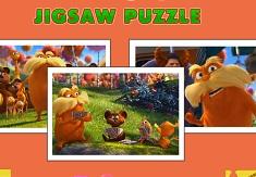 Set Puzzle cu Lorax