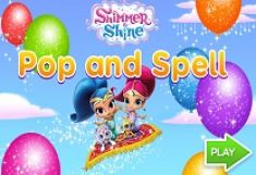Shimmer si Shine Pop and Spell