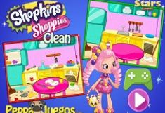 Shopkins Shoppies Curatenie
