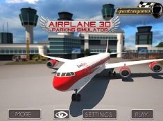 Simulator Parcari de Avioane 3D