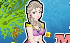 Sirena Elsa Makeover