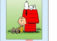 Snoopy si Charlie Puzzle