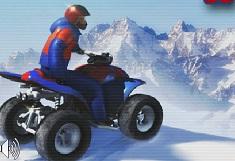 Snowmobilul pe Munte