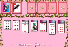 Solitaire cu Monster High