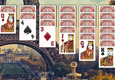 Solitaire in Paris
