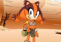Sonic Boom Sticks Fata Bursuc