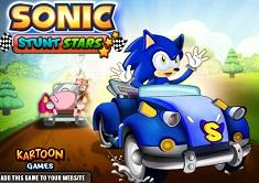 Sonic Cascadorii cu Masina